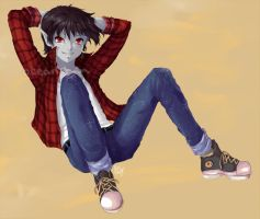 Marshall Lee by oceantann