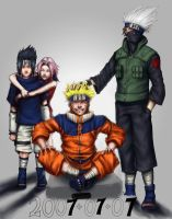 Team 7 COLOURED by Draakh
