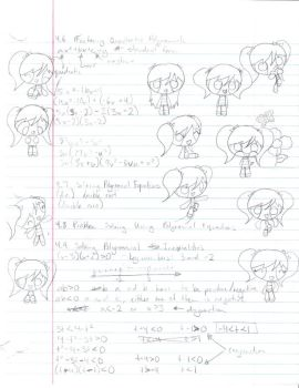 Math Notes by TapinAnts