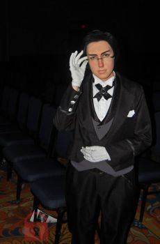 Claude cosplay, Black Butler by TheRedFoxof9