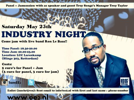 Flyer INDUSTRY NIGHT by Evanescent-beauty