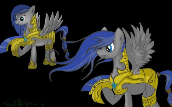 Then and Now by fiendaffliction
