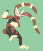 Mega Lopunny by Iron-Zing