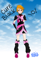 Cure Black~ by Willow-Fuyu