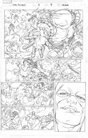 Xmen pencil pages 09 by amilcar-pinna