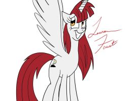 Lauren Faust Pony by MysteryFanBoy718