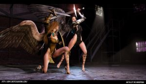 battle of the immortals2 by artdude41