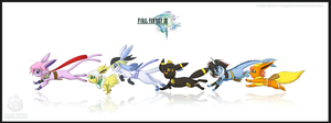 FF13: The Eevee L'Cie by Ferisae