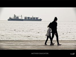 mother-daughter by archonGX