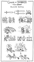 Game of Thrones 4x01 - Illustrated Summary by AlessiaPelonzi
