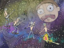The Psychedelic  Rock Dimension by ErroneousToad