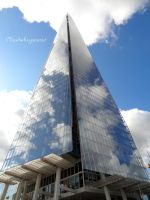 Highway to the Clouds - The Shard (London) by Cloudwhisperer67