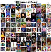 100 Character Meme by K-dog0202