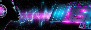 Urban Music Daily Banner by Dyna-MIC