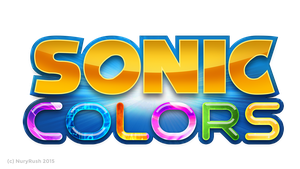 Sonic Colors Logo Remade by NuryRush