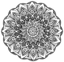Mandala 24 June 2014 by Artwyrd
