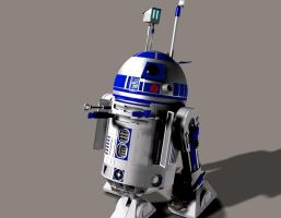 Our favourite droid by Robotlouisstevenson