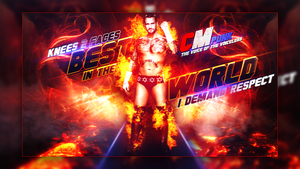 New Wwe Wallpaper Cm Punk A man on fire by AccidentalArtist6511