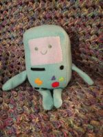 BMO: The Plushie by Lavi-love