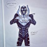 Commission: Blue Beetle by micQuestion