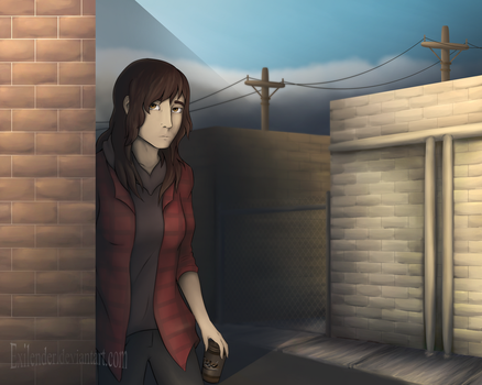 Alley by Exilender