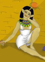 Goddesses gone Bad:  Hathor by MeryKitsune