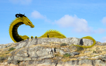 Glaurung and Nienor at Amon Ethir by pluto-my-way