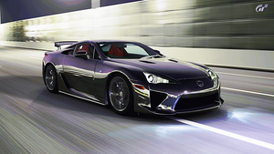 Lexus LFA by StrayShadows