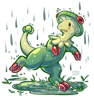 PokeddeXY - Breloom by Electrical-Socket