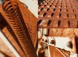 Rusted Collage by AEisnor