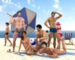 Las vacaciones de Lucia (light updated) by sithlordsims