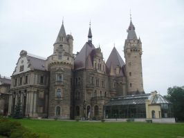 Moszna castle 01 by feainne-stock