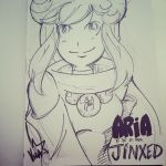 Aria daily sketch 2014.9.22 by this-is-vegapunk