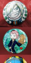 Custom Buttons - Harufest 08 by jagris