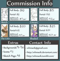 Commission Info by whmSeik