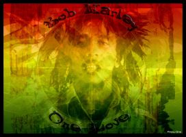 Bob Marley by Pakal-One