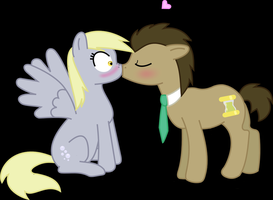 Surprise kiss! by Wolfie111496