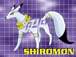 The Digimon Agency - Shiromon by basesbytally