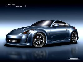 Nissan 350Z by Active-Design