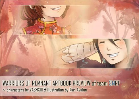 Warriors of Remnant: Artbook Preview of team SMRF by kariavalon