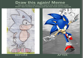 Meme: Before and After by Goophou