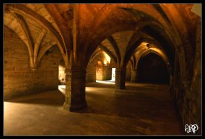 Palace Undercroft by SnapperRod