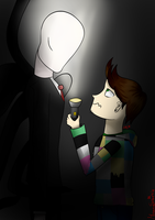 Elrubius and Slender by RaissaSpina