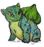 Bulbasaur by Philestino