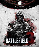 Battlefield 3 Icon by nemanjadmitrovic