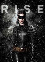 Anne Hathaway -Catwoman- Rise by kaybabe300