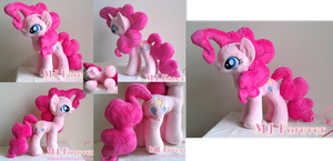 My second plushie - Pinkie Pie!  :D (GIVEN AWAY) by moggymawee