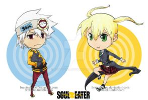Soul Eater - maka and soul by BettyPimm