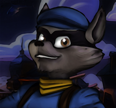 Sly Cooper by DENDEROTTO