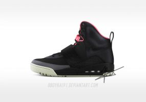 Nike Air Yeezy HD 'Blink' by BBoyKai91